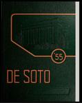 DeSoto yearbook, Memphis State College, Memphis, 1955