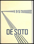 DeSoto yearbook, Memphis State College, Memphis, 1957