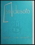 DeSoto yearbook, Memphis State University, Memphis, 1959