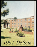 DeSoto yearbook, Memphis State University, Memphis, 1961