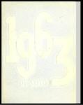 DeSoto yearbook, Memphis State University, Memphis, 1963