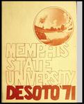 DeSoto yearbook, Memphis State University, Memphis, 1971