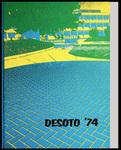 DeSoto yearbook, Memphis State University, Memphis, 1974
