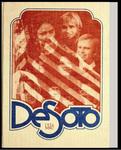 DeSoto yearbook, Memphis State University, Memphis, 1976