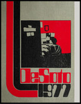 DeSoto yearbook, Memphis State University, Memphis, 1977