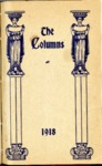 The Columns yearbook, West Tennessee State Normal School, Memphis, 1918